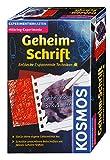 KOSMOS 657574 - Geheim-Schrift, Entdecke 7 spannende Techniken, Geheimstifte  mit Geheimtinte, Mitbringexperiment, Detektiv Set