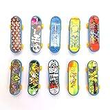 STUWU 10x Fingerskateboard Fingerboard für Skatepark Mitgebsel Kindergeburtstag