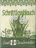 'Schnittknoblauch'-Saatgut - Schnittknoblauch-Samen für den Garten, Balkon oder Terrasse - Schnittknoblauch zum selbst pflanzen!