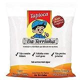 Goma Pronta para Tapioca DA TERRINHA, Tapioka aus Brasilien, hydratisiert, Beutel 500 g.