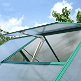 WIWIR Automatischer Fensteröffner für Gewächshäuser und Gartenhäuser