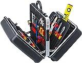 KNIPEX 00 21 40 Werkzeugkoffer 'BIG Twin' Elektro 63-teilig