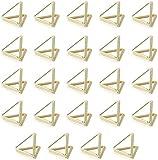 AIEVE 24 STK Fotohalter Memo Name Halter Tischkartenhalter Platzkartenhalter Tischkarte Ständer Bilder Clip Sitzkartenhalter Tisch Dekoration für Hochzeit Party Büro