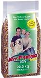 bosch My Friend Mix | Hundefutter für ausgewachsene Hunde aller Rassen | ausgewogener Krokettenmix mit Flocken | 20 kg