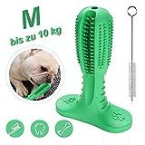 Hengda Hundezahnbürste für kleine Hunde Kauspielzeug Spielzeug Hundespielzeug Naturkautschuk Reinigungsbürste für kleine