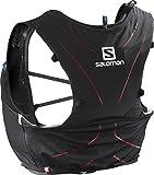 Salomon Leichter Trinkrucksack 5L, ADV SKIN 5SET, Schwarz/Rot, Gr. M/L, L39267700