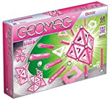 Geomag 342 Panels Konstruktionsspielzeug, 68-teilig, Rosa