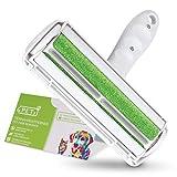 4 Pets - Fusselbürste 2.0 für eine schnelle und Bequeme Tierhaarentfernung - Fusselrolle Tierhaare für Autositze, Möbel & Teppiche - Wiederverwendbarer Tierhaarentferner, Katzenhaarentferner