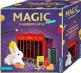 Kosmos 698843 Magic Zauberkäfig Lass den Hasen aus dem Nichts erscheinen und viele weitere tolle Zaubertricks Zauberkasten, für Kinder  ab 6 Jahre