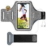 JETech Schweißfest Armband Handy Case für iPhone 11/11 Pro/XR/XS/X/8 Plus/7 Plus/8/7, Galaxy S10/S9/S9+, Verlängerungsband, Schlüsselhalter und Kartensteckplatz, für Handy Bis zu 6,1 Zoll