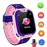 KinderSpiel Smartwatch Uhr-Spiel Kamera Smart Watch Touchscreen Elektronische Lernspielzeug Digitale Armbanduhr für Jungen und Mädchen