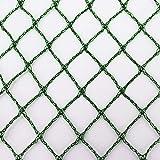 Aquagart Teichnetz, 3m x 6m, dunkelgrün, engmaschig: Maschenweite 15mm x 15mm, Laubnetz, Teichabdecknetz, Vogelabwehrnetz, Reihernetz robust