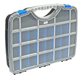Tayg 023552 Sortimentskasten Basic Box 02/388 x 290 x 61 mm/bis zu 26 Fächer/schwarz-blau