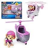 PAW PATROL Ultimate Rescue   Mini Fahrzeuge mit beweglicher Spiel-Figur, Figur:Skye Hubschrauber