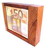 Logica Spiele Art. Geldschrank Mit Trick M - Geheimschachtel - Schwierigkeit 5/6 Unglaublich - Geschenkbox - Denkspiel - Knobelspiel