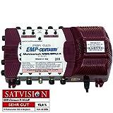 SAT Multischalter EMP Centauri 5/8 (Gigant) Profiline P.143-UP (PIU-4) mit Netzteil Switch FULLHD 3D Digital