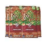 Plantura Bio Komposterde, 160 L, torffrei & klimafreundlich, auch als Hochbeeterde