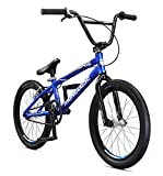Mongoose Unisex-Youth Title Pro Race Racing, BMX, Blue, one Size