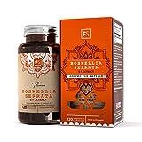 FS Weihrauch Kapseln 2000 mg, hochdosiert | Boswellia serrata 2000 mg pro Kapsel | 120 vegane Kapseln | Gegen Schmerzen & Entzündungen | Keine Zusatzstoffe – Ohne GVO, Gluten & Milch