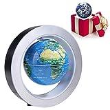 Globo runder elektronischer runder Globus - mit LED-Licht - Home Office Display blau
