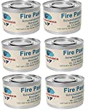 Gastro-Bedarf-Gutheil 6 x Sicherheitsbrennpaste je Dose 200 g Qualitätsprodukt Fire Paste Brennpaste Brenngel Brenndauer ca. 2,5 Std. für Chafing Dish Speisewärmer Warmhaltebehälter Rechaud