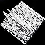 Aboat Metall-Nasenstreifen aus Aluminium, verstellbarer Nasensteg, für Bastelzubehör, Nähen und Basteln