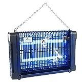 Gardigo Insektenvernichter 16 W mit UV Licht I Insektenschutz für 70 m² I Insektenfalle I Deutscher Hersteller I GS geprüft