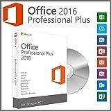 Office 2016 Professional Plus 32 & 64 Bit Vollversion ISO DVD mit orig. Lizenzschlüssel