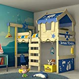 WICKEY Kinderbett 'CrAzY Jelly' - Hochbett - Spielbett - 90x200 cm