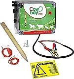Koll Living Weidezaungerät Cowboy V9000-12 V - Extra Power : 10000 Volt - Unser stärkstes Batteriegerät mit Bester Hütesicherheit inkl. Zubehörset