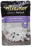 Miamor Katzenfutter Ragout Royal für Kitten mit Rind 100 g, 22er Pack (22 x 100 g)