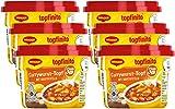 Maggi Topfinito Currywurst-Topf mit Kartoffeln, leckeres Fertiggericht, Wurst- und Kartoffel-Stücke in pikanter Soße, für die Mikrowelle, 6er Pack (6 x 380g)