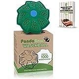 PandaBaw® Öko Waschball - [INNOVATIVE FORMEL] - Waschen ohne Waschmittel - Waschkugel für Waschmaschine - Bio Waschmittel für Allergiker, Kinder & Umweltbewusste – Nachhaltige Produkte - Zero Waste