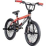 deTOX BMX 20 Zoll Fahrrad Big Shaggy Spoked 8 Farben zur Auswahl + 4 Pegs inkl.! (schwarz/rot)