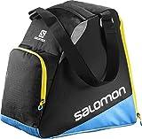 Salomon, Ski-Ausrüstungstasche (33 L), EXTEND GEARBAG, Schwarz/Blau, (Black/Process Blue/Corona Yellow), L38280500