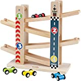 Kinder Kugelbahn Holzspielzeug, Babys Erstes Pädagogisches und Kreatives Kinderspielzeug.