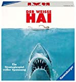 Ravensburger Spiele 26799 - Der weisse Hai 26799 - Spannendes Brettspiel ab 10 Jahren