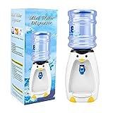 BONMW 2,5 l Mini niedlichen Pinguin Wasserspender mit Wassereimer Trinken 8 Gläser Wasser für Home Office Student Wohnheim Kinder Geschenk