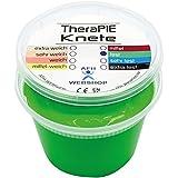TheraPIE Knete, 454 Gramm (1 Pound), Therapie Knetmasse, Stärke Widerstand: fest (grün)