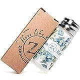 Zahnseidenkampagne PLA Premium Zahnseide mit Candelilla Wachs und Ingwer-Minz Aroma - ohne Plastik (Glasflacon + 30 m)
