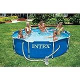 Intex 28202GN Metal Frame Pool - Aufstellpool - Ø 305 x 76 cm