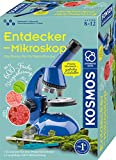 KOSMOS 636050 Entdecker-Mikroskop, Experimentierkasten für Kinder