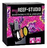 ARKA Aquatics MyReef Studio - Smartphone Filter & Makro-Linse für farbenprächtige detailreiche Fotos Ihres Aquariums, Einheitsgröße