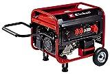 Einhell Stromerzeuger (Benzin) TC-PG 55/E5 (7.5 kW, max. 3300 W (bei 230 V), 389 cm³, 25 L Benzintank, 2x 230V & 1x 400V-Steckdose, Überlastschalter, AVR-/Ölmangelsicherung)