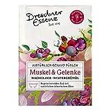 5er Pack Dresdner Essenz Gesundheitsbad Muskel & Gelenke 5 x 60 g, Wachholder-Wintergrünöl