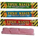Toxic Waste Nukleare Schlamm Kauriegel - Geschmacksmischung (12 mitgeliefert)