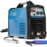 IPOTOOLS TIG-200R WIG Schweißgerät DC - TIG WIG Schweissgerät 200 Amper Volldigitales Inverter Schweißgerät mit Digitale LCD Anzeige, HF-Zündung, MMA E-Hand, IGBT