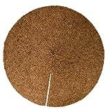 Mulchscheiben aus 100 % Kokos, 10er Pack, Durchmesser: 30 cm, ca. 0,7 cm dick, (EUR 2,45 je Stück), Matte geeignet als Unkrautschutz, Winterschutz, Pflanzenschutz, 100% biologisch abbaubar, nachhaltig