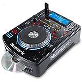 Numark NDX500 - eigenständiger USB-/CD-Player und Software-Controller mit berührungsempfindlichem Jogwheel, Audio-Interface, langem Pitch-Fader, vorgemappt für ausgefeilte Integration mit Serato DJ