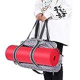 Cocoarm Yogatasche Multifunktionale Yogamattentasche aus Oxford mit Abnehmbarer Schultergurt Tasche für Yogamatten und Yoga-Zubehör, 52 x 35 x 17cm
